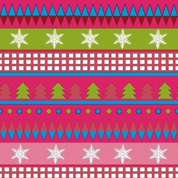 Papierservietten, pink, 24x24cm