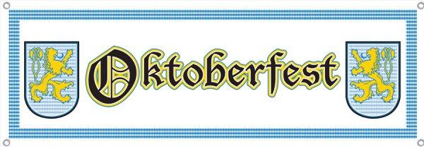 Banner Oktoberfest, 53 x 152 cm