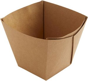 "Karton/PE Box, Braun, 8,2 dl, ""Viking Cube High"""
