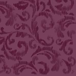 Dunilin Servietten, Violett, 40 x 40 cm