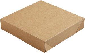 """Karton/PE Deckel, Braun, """"Viking Block"""""""