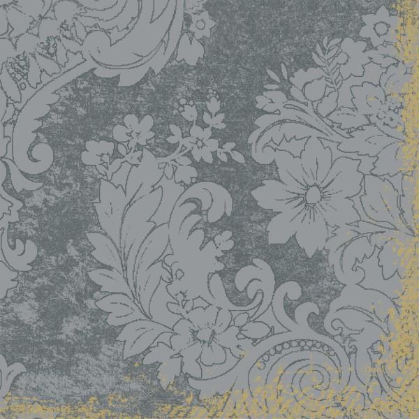Papierservietten, Grau, 33 x 33 cm