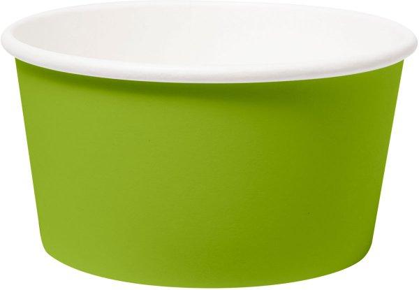 Bio Pappschalen, grün, 42 cl
