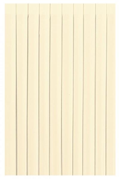 Skirting und Tischschürze Papier, cream, 0.72x4 m