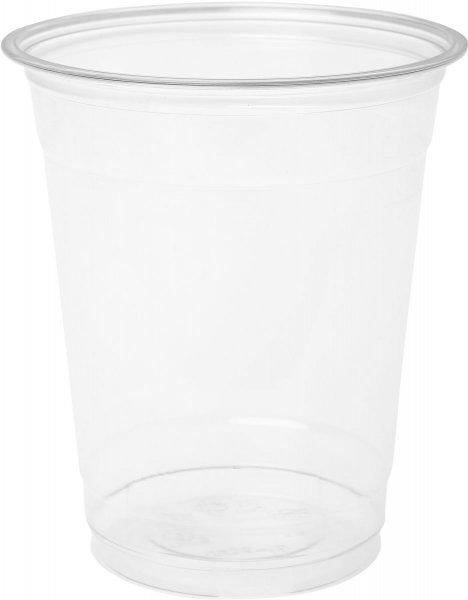 Bio Plastikgläser, transparent, 35 cl