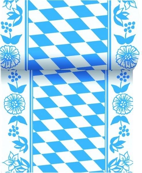 Tischläufer Papier, Blau, Weiss 0.15 x 20 m