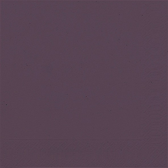 Papierservietten, violett, einfarbig, 33x33cm