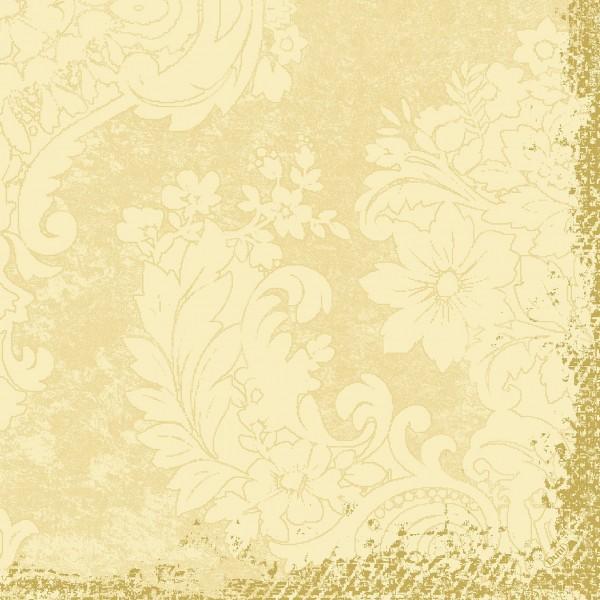 Papierservietten, creme, 40x40 cm