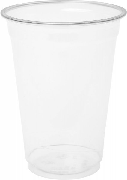 Bio Plastikgläser, transparent, 27 cl