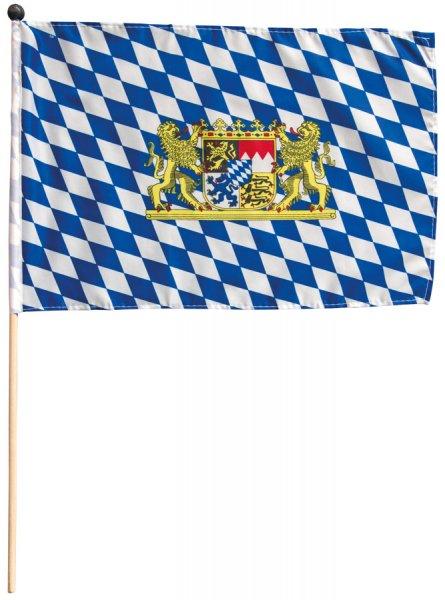 Stabfahne Oktoberfest Bayernraute, 30 x 45 cm